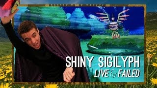 Sigilyph  - (Pokémon) - LIVE & FAILED!! Shiny Sigilyph blown away after 6276 REs!!! | TheSupremeRk9s