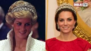 Kate Middleton: de gala y con la icónica tiara de la princesa Diana | Mundo HOLA