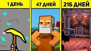СОЗДАНИЕ ИГРЫ ЗА 1 ДЕНЬ, 47 ДНЕЙ И 216 ДНЕЙ ( Epic Mine #1 )