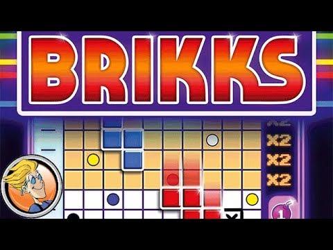 Drop quadrominoes & make rows in Brikks — Fun & Board Games with WEM