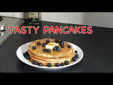 Tasty pancake recipe how to make easy pancakes by popessalifestyle
