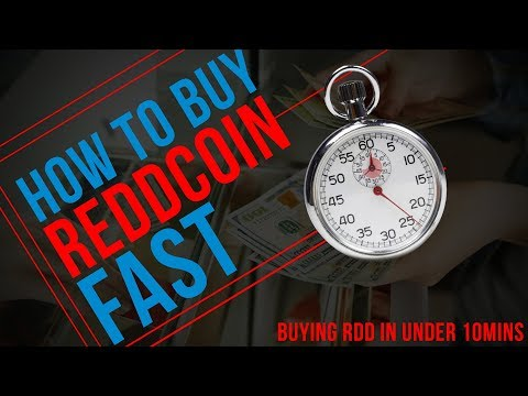 How to Buy Reddcoin In Under 10 Minutes