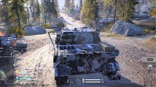 Battlefield V - Firestorm - Tank Gameplay PS4 (1080p60fps)