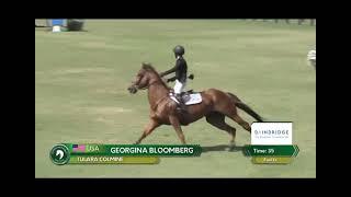 Tulara Colmine and Georgina Bloomberg