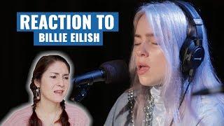 "Vocal Coach Reacts To Billie Eilish ""Bellyache LIVE"""