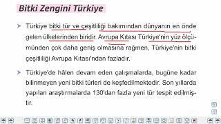 Eğitim Vadisi 10.Sınıf Coğrafya 12.Föy Türkiye'de Doğal Bitki Örtüsü 2 Konu Anlatım Videoları