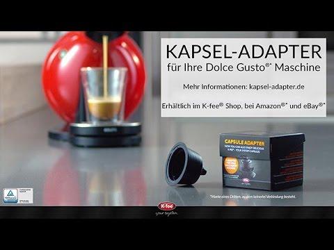 Dolce Gusto® Kapsel-Adapter von K-fee