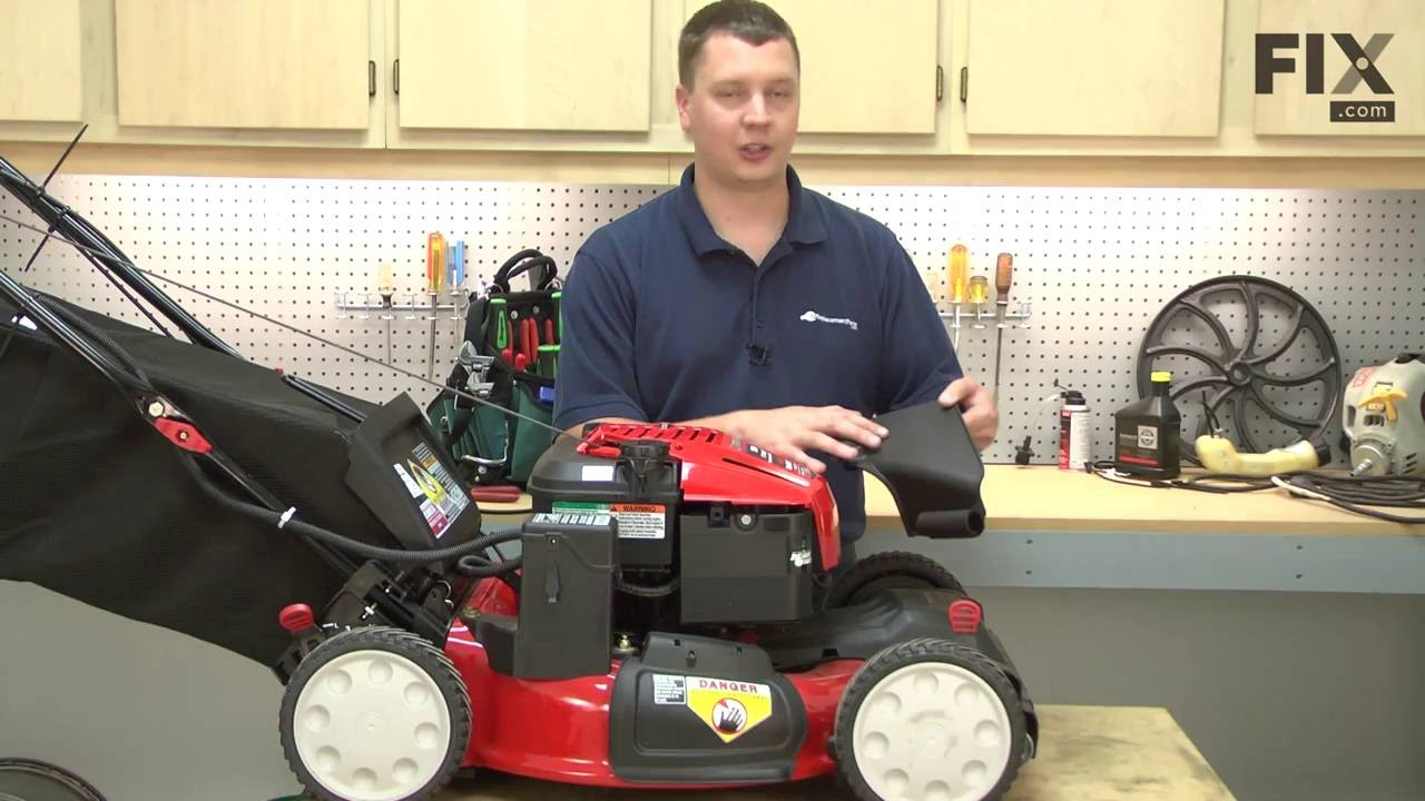Replacing your Troy-Bilt Lawn Mower Discharge Chute