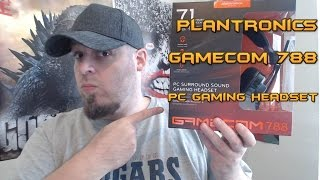 Plantronics - Gamecom 788 Gaming Headset Review/Mic Test