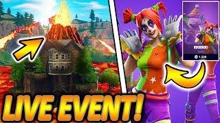 LIVE FORTNITE CUBE VULKAN EVENT?!🌋🔥 | NEUER NACHTINACHT & KUCKUCK! SKIN! | Fortnite Battle Royale