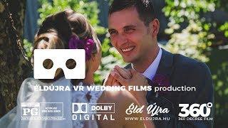 ÉldÚjra! Ivett és Kim - esküvő 360° / wedding 360° - www.eldujra.hu