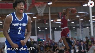 Ethan Anderson ROLLS Pump N Run past Cassius Stanley and Team Why Not!!!