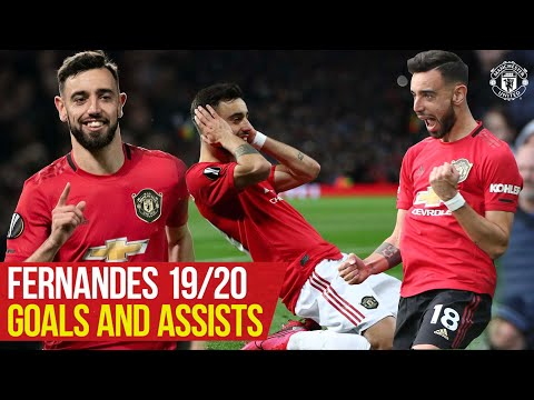Bruno Fernandes | All The Goals and Assists 19/20 | Manchester United