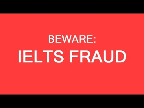 IELTS fraud example. Be aware! LP Group