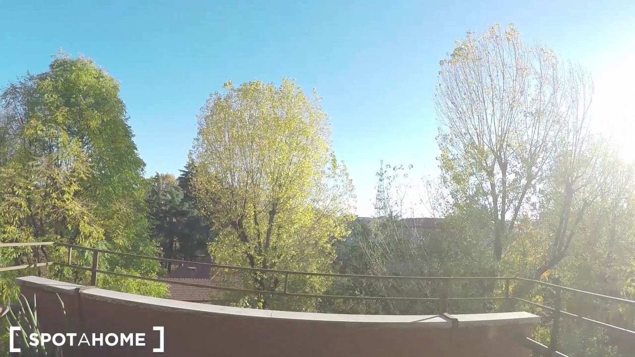 Rooms for rent in sunny, modern 3-bedroom with terrace in Rovereto, Loreto