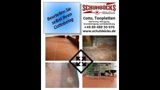 Schuhböcks Infos: Cotto und Tonplatten sanieren, reinigen und behandeln.