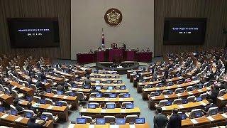 Южная Корея: процедура импичмента президента началась