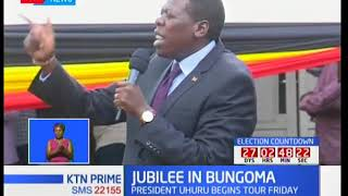 DP Ruto pitches camp in Bungoma ahead of President Uhuru's planned tour