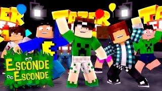 Minecraft: FESTA TAZERCRAFT! (Esconde-Esconde)