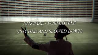 Stromae   Formidable (slowed + Bass Boosted)