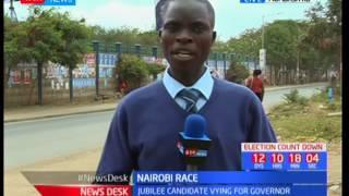 Sonko holds a caravan campaign in Nairobi estates, Nairobi race