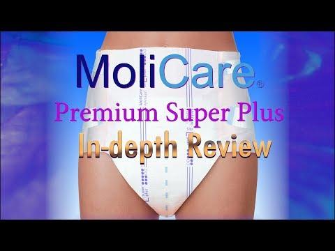 Molicare® Premium Super Plus Slip/Brief Adult Diaper In-Depth Review #incontinence #adultdiaper