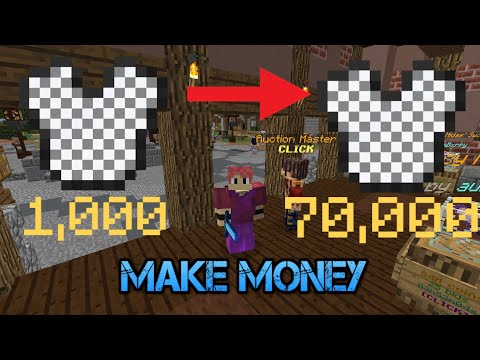 Hypixel Skyblock : Make Money Flipping Armor