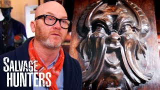 Picking Up An Unusual Collection Of Carved Architectural Fragments   Salvage Hunters
