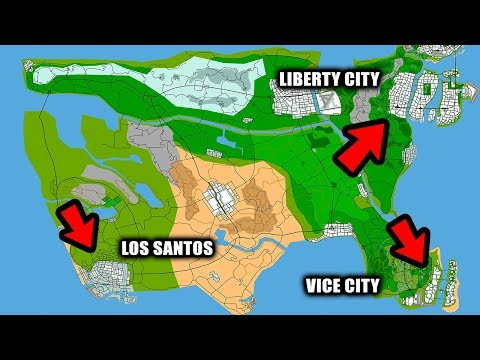 Every GTA City In One Game! (GTA USA Gameplay)