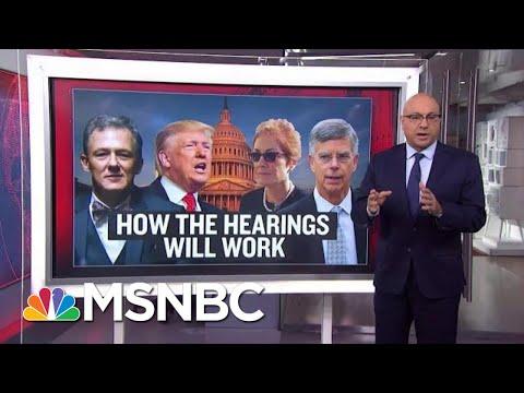 How Do Public Impeachment Hearings Work? | Velshi & Ruhle | MSNBC
