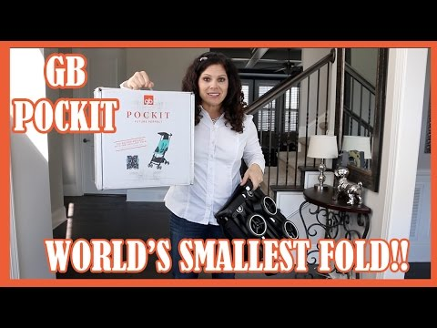 GB Pockit Stroller REVIEW by Baby Gizmo!