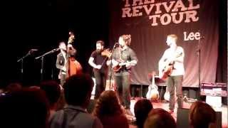 The Revival Tour - Chuck Ragan & Cory Branan - Let it rain (Freiheiz München, 04.11.12)