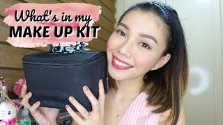 WHATS IN MY MAKE UP BAG | Peevee Dela Rosa