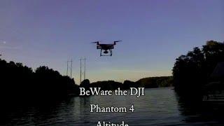 """DJI Phantom 4 Altitude """"Yo-Yo"""" Effect"""