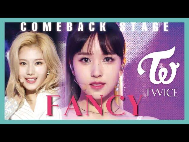 [Comeback Stage] TWICE - FANCY ,   트와이스 - FANCY Show Music core 20190427