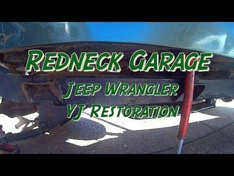 Jeep Wrangler YJ Body Lift / Bushing Replacement (2)