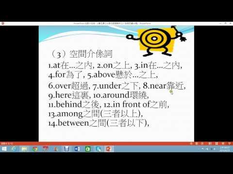 第五課 其他詞類解析 形容詞副詞介係詞冠詞