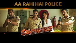 "India's First Cop Universe! Aa Rahi Hai Police - Sooryavanshi releasing on 24th March 2020, Evening 6 PM onwards.   Reliance Entertainment presents  Rohit Shetty Picturez In association with Dharma Productions and Cape Of Good Films ""Sooryavanshi""   Produced by: Hiroo Yash Johar, Aruna Bhatia, Karan Johar, Apoorva Mehta, Rohit Shetty  Directed by: Rohit Shetty Star Cast: Akshay Kumar, Ajay Devgn, Ranveer Singh and Katrina Kaif  Releasing Worldwide on the evening of 24th March 2020 in cinemas near you!   For more information log on: Facebook: https://www.facebook.com/RelianceEnt Twitter: https://twitter.com/RelianceEnt  Instagram: https://www.instagram.com/reliance.entertainment  #SooryavanshiOn24thMarch #Sooryavanshi"