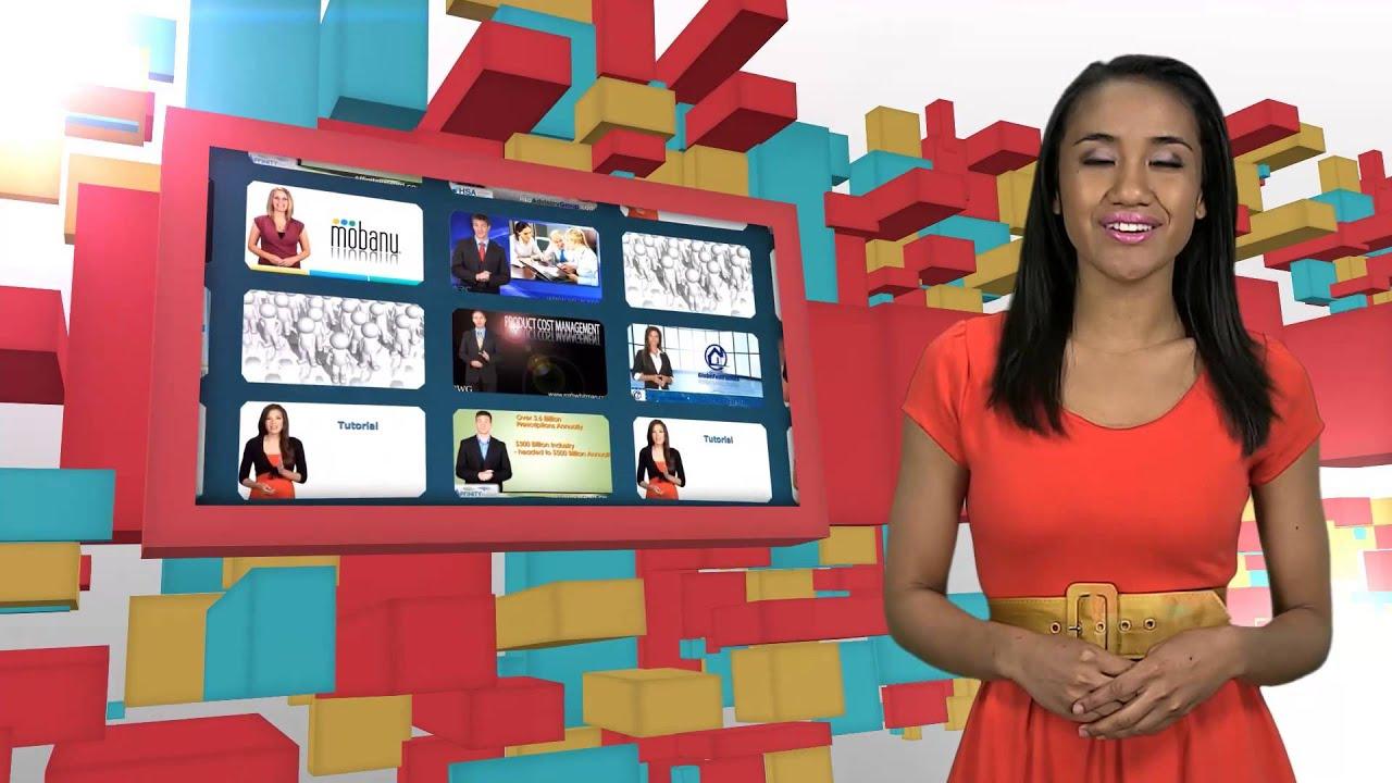 Custom Video Presentation Example - 'Segments Site'