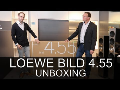 Loewe bild 4.55 OLED TV - Unboxing - Thomas Electronic Online Shop - bild4.55 - 57441W90
