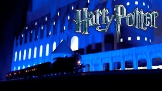 Amazing Harry Potter Christmas Light Show