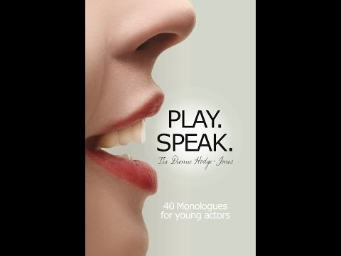 Play. Speak. Book Launch Promo with footage from Actors Workshop held March 18th, 2014.