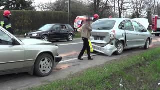 Wypadek na ul. Bieszczadzkiej w Krośnie