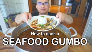 How To Cook A SEAFOOD GUMBO