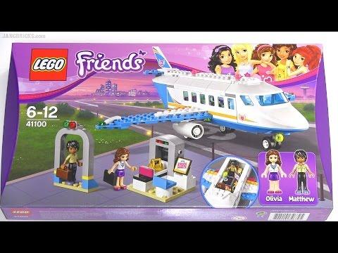 Vidéo LEGO Friends 41100 : L'avion privé de Heartlake City