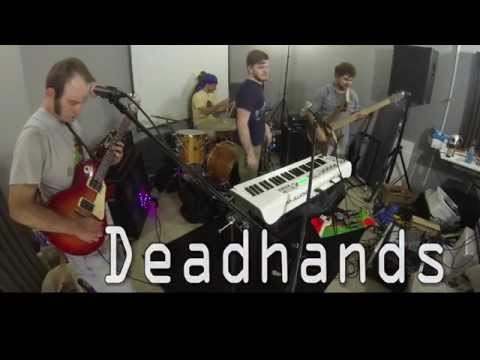 Deadhands live in our rehearsal space